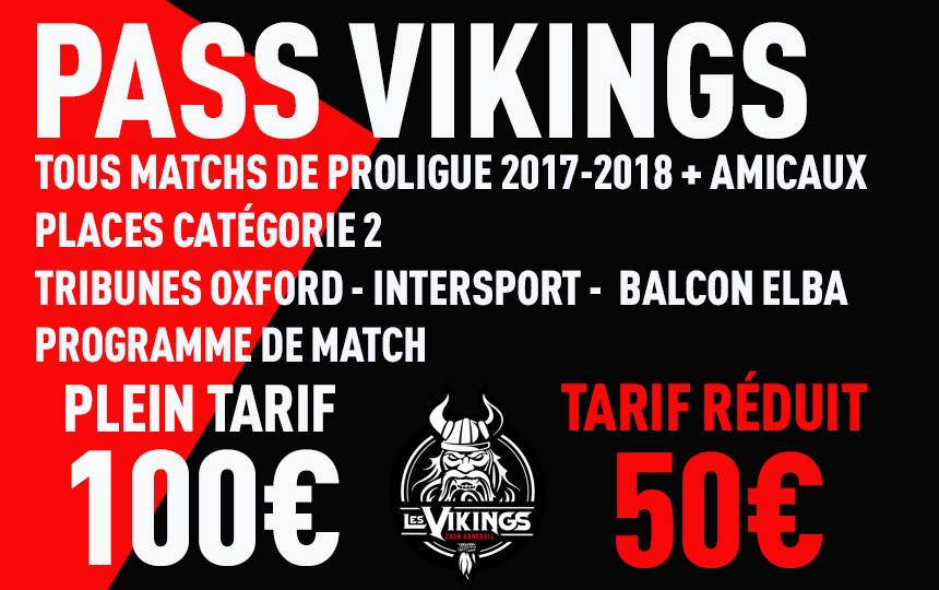 PASS VIKINGS 17 18